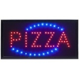 Led-kyltti 48x24 cm PIZZA